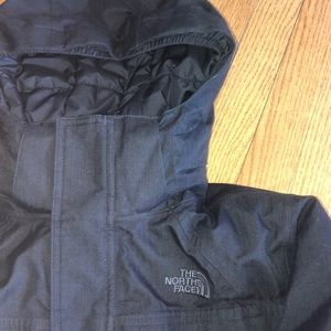 Boy's North Face puffer coat